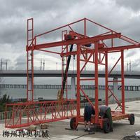 2吨桥梁防撞护栏模板台车