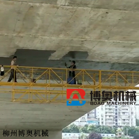 桥梁维修吊篮平台