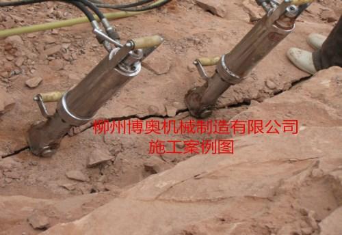 开矿中遇到岩石坚硬难以破碎怎么办?--江西案例